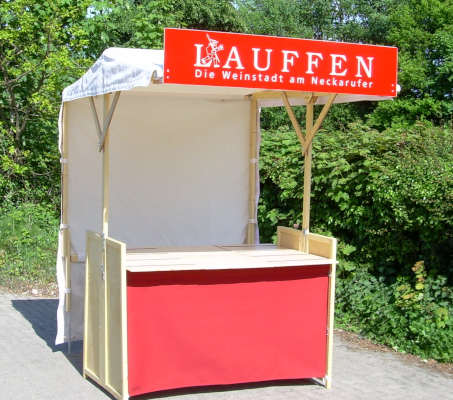 Infostand i1.5 rot
